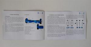 SwheelS Hoverboard Gebruiksaanwijzing