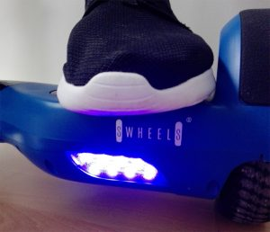 SwheelS Hoverboard Blauwe Led Verlichting