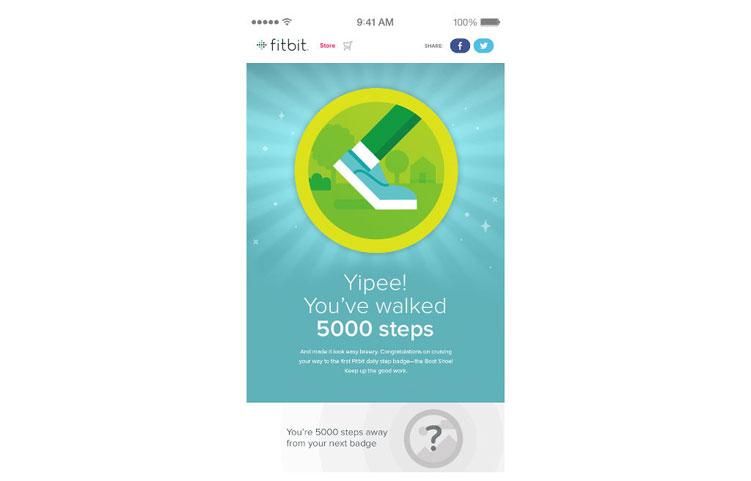 Fitbit Surge Fitbit App