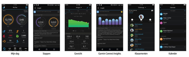 garmin activity connect app