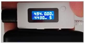 RAVPower 6700 ACE Powerbank meting