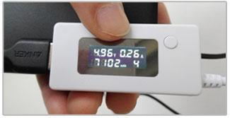 Anker PowerCore 10000 Daadwerkelijke batterij meting