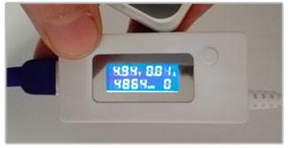Capaciteit meting van de Xtorm Air 6000 XB100