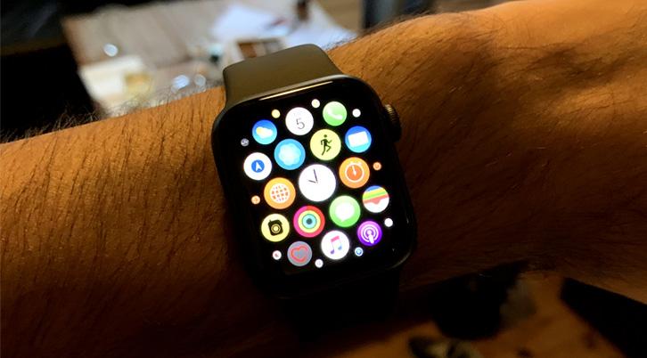 beste smartwatch interface Apple watch series 4