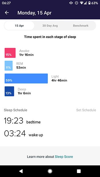 fitbit versa 2 beste sleep tracking app 2019