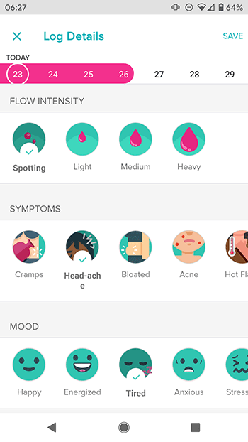 fitbit versa ongesteld tracker health app